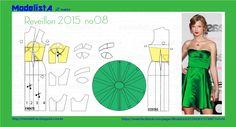 ModelistA: ANO NOVO - 8 Corset Skater Dress