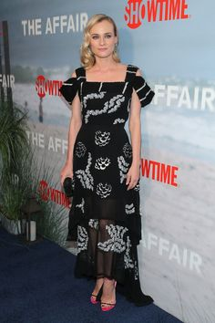 Diane Kruger in a Michael Van Der Ham dress - At the premiere of 'The Affair' in New York City.   (October 2014)