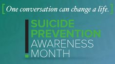 September is Suicide Prevention Awareness Month - Live Fit and Sore Mental Health Organizations, Mental Health Advocacy, Good Mental Health, Physical Pain, Live Fit, Adolescence, Mental Illness, Picture Quotes, Motivation