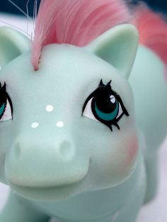 My Little Pony.  Baby Cuddles was my favorite.