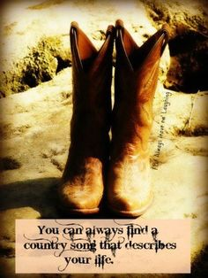 So true.... Half my friends have country songs that fits them to a T!! :)