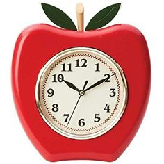 "Amazon.com: Westclox 3D Apple Wall Clock, 10"": Home & Kitchen amazon.com350 × 350Search by image Enhance your room's decor with the 3D Apple 10Wall clock from Westclox. The unique design will add flair to the wall. Plus, you will always know what time it is."