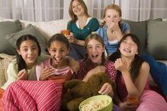 Most slumber parties benefit from a communal sleeping arrangement.