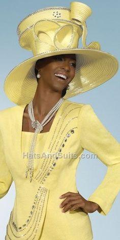 f5a634bf91a Donna Vinci Couture Church Hat H1400