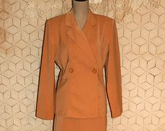 large size vintage womens clothes | ... Suit Womans Suit Fitted Blazer Size 12 Size Large Womens Clothing