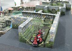 Image result for sewers wargaming terrain 40k Terrain, Game Terrain, Wargaming Terrain, Rpg Board Games, Hirst Arts, Dungeon Tiles, Sewer System, Model Shop, Mini Craft