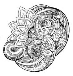 Mind Theraphy Adult Coloring Book