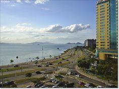 Beira-mar Norte em Florianópolis - SC.