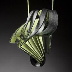 Lydia Hirte, Artist, Jewelery Sculpture Paper Art, 2010
