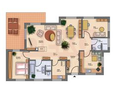 Good House, Tiny House, Best House Plans, First Apartment, Bungalows, Decoration, Most Beautiful Pictures, In The Heights, Home Plans