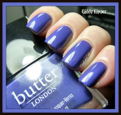 Gorgeous indigo. butter LONDON Giddy Kipper | Pointless Cafe