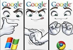"""This is how Google created the """"Chrome"""" Logo..."""
