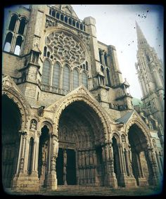 Chartres-1979 and again