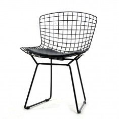 Black Bertoia Wire Chair (2pcs)