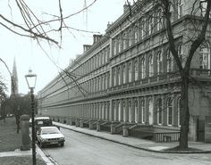 Grosvenor Terrace, c top of Byres road, Now the Hilton. Scotland History, Glasgow Scotland, Gorbals Glasgow, Paisley Scotland, Glasgow City, 2nd City, Historical Architecture, Old Photos, Places To Visit