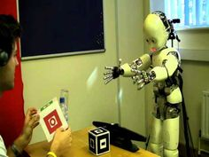 Humanoid Robot Learns Language Like a Baby