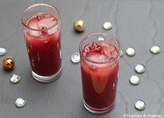 Cocktail sans alcool de la Saint Valentin