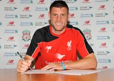 Gallery: First shots of Milner at LFC