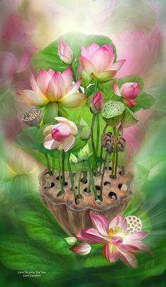 Spirit of the lotus | Zauberhafte Bilder | Pinterest | Zauberhaft, Schöne bilder und Aquarell