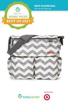 90ceb3828bcf0 Best diaper bag in BabyCenter's 2017 Moms' Picks Awards sponsored by Target  Messenger Diaper Bags