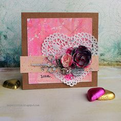 Valentine's Gift by Riikka Kovasin for Mixed Media Place