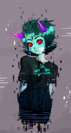Calm down Terezi! No need to glitch out! Or glitch out anyways... kinda confuse now XD
