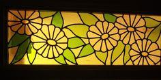 Leaded fanlight window