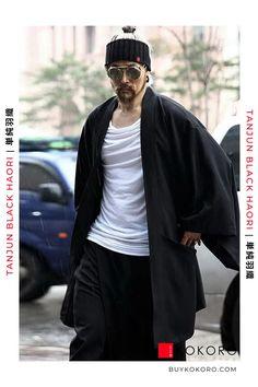 The haori (羽織) is a traditional Japanese hip- or thigh-length jacket worn over a kimono. Tanjun Black Haori, Men's Fashion, Men's Style Inspiration, Men's Style, Trendy Outfit, Fashion Blogger, Aesthetic Haori, Men's Urban Style, Men's Fall Outfits, Men's Casual Outfit, Men's Classy Style, Comfortable Haori, Men's Clothing Inspiration, Men's Fashionwear! #haori #mensfashion #outfit #menfashionpost #kokorostyle