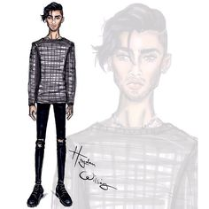 Zayn Malik by Hayden Williams #Menswear
