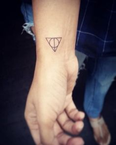 Harry Potter and the Deathly Hallows tattoo