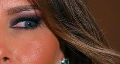"""The Trumps seemingly unloving relationship suggests that there is no """"sense of the person behind Melania's Slavic mask."""" Or is there?"""