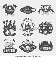 Vintage Americana Badges And Logos Design Buy Now Creativemarket GraphicMonkee 362299