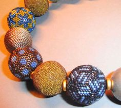 bluepearls Perlen: beaded beads
