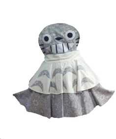 Kaycee's Kreations (kaycee99) - photoshopped doll parts and clothes for Polyvore.  Totoro apron