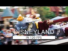 DISNEYLAND in SLOW MOTION - YouTube