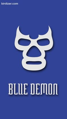 Blue Demon, Luchador Mask, Mexican Wrestler, Embossing Stamp, Blue Mascara, Beach Cruiser Bikes, Image Fun, Pinstriping, Stencil Art