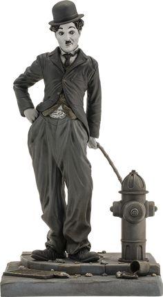 BLOG DOS BRINQUEDOS: Charlie Chaplin Statue