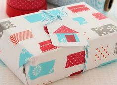 Washi Tape Gift Tag | Ideas For Fun and Creative DIY Christmas Gift Tags