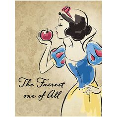 Artissimo Designs Snow White Vintage Fashionista Wrapped Canvas ($17) ❤ liked on Polyvore featuring home, home decor, holiday decorations, vintage home decor, disney home decor, vintage home accessories, vintage holiday decorations and canvas home decor