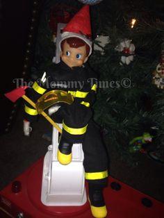 Jr. Rescue Fireman Elf on the Shelf Adventures
