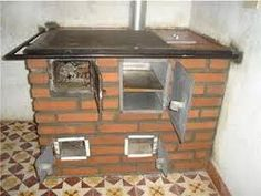 DISEÑOS DE ESTUFAS TIPO santANDEREANO - Buscar con Google Cooking Stove, Fire Cooking, Pizza Oven Outdoor, Outdoor Cooking, Bq Grills, Pain Pizza, Tyni House, Outdoor Toilet, Stove Heater