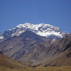 Aconcagua: the highest mountain in the Western and Southern Hemispheres at 6,960.8 metres (22,837 ft)