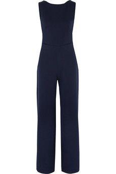 Saloni Jules backless crepe jumpsuit | THE OUTNET