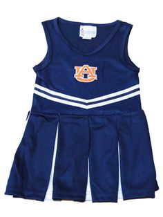 Auburn Tigers TFA Youth Baby Toddler Navy Dress Up Cheerleading Outfit