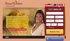 KissesOfAfrica is established since 2006 and has a growing active members. It aims to retain the first African dating online site for members looking to match with gorgeous African women.