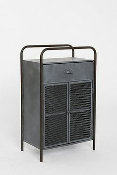 Urban Outfitters-- Locust Caged Metal Cabinet