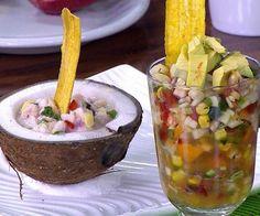 Receta: Ceviche de corvina, mango y leche de coco - Recetas - Estilo de Vida   TeleticaMovil