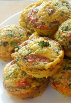 Sun-Dried Tomato Bacon Mini Frittatas that are Dairy Free, Paleo and Whole30 friendly. Make ahead breakfast or snack.