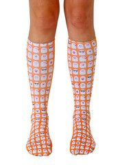 The coolest socks on planet Earth Holiday Socks, Knee High Socks, Cool Socks, Hosiery, Emoji, Unisex, Ghosts, Clothes, Collection