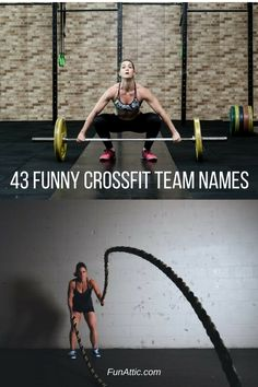 43 Funny Crossfit Team Names - Find fun activities and things to do with our extensive list of board games. The best game ideas, resources and activities for birthday parties, outdoor games, picnics, youth groups, summer camps, company events, educators, family life, home schooling or just for the fun of it.